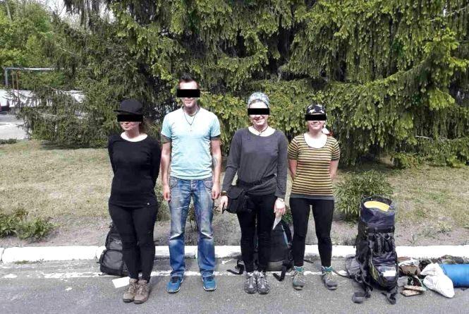 """На Житомирщині затримали чотирьох """"сталкерів"""""""