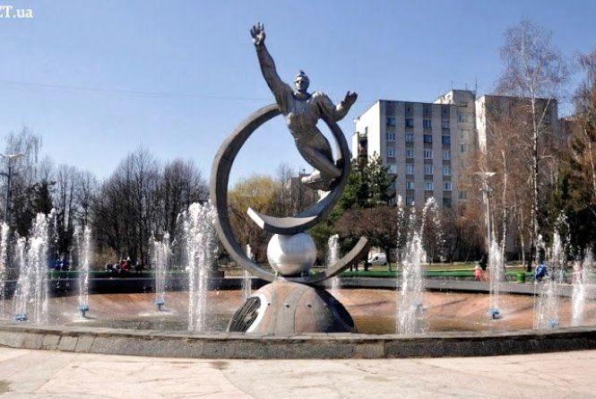 У Житомирі увімкнулися майже всі фонтани