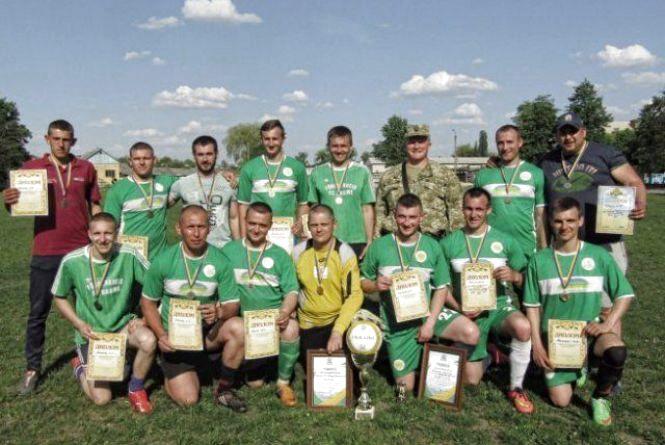 Житомиряни здобули перемогу у матчі в Чемпіонаті України серед учасників АТО