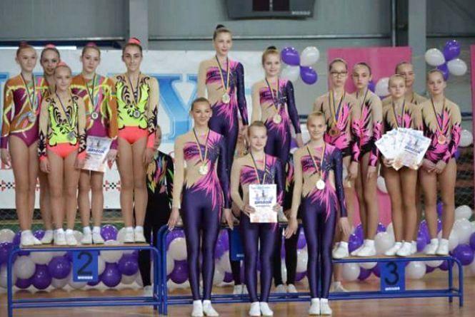 Наша гордість: житомиряни виграли Чемпіонат України зі спортивної аеробіки серед юнаків та молоді