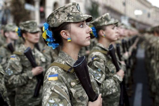 Під час призову офіцерів запасу до лав ЗС України жінки й чоловіки можуть залучатися до служби на рівних умовах