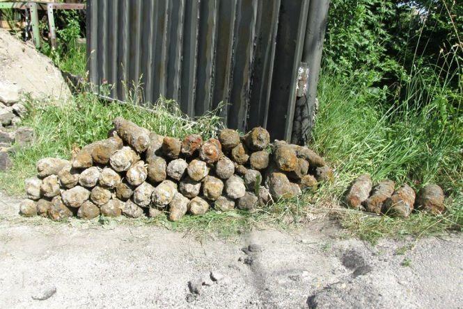 Арсенал часів Другої світової знайшли у Житомирі