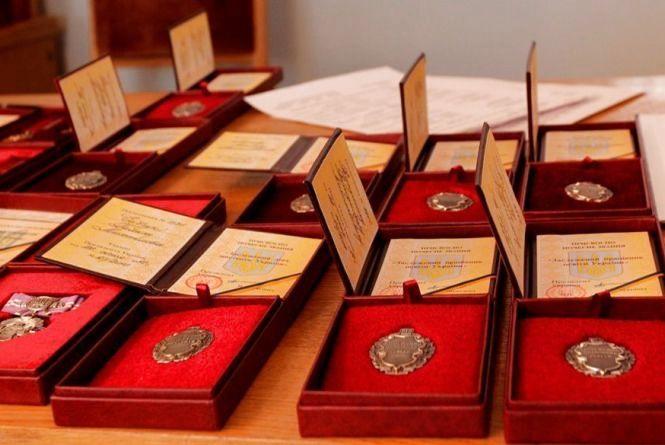 Житомирян відзначено державними нагородами