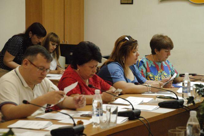 Засідання виконкому у фотографіях