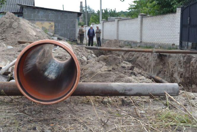 У Житомирі на Польовій водопостачання так і не відновлено