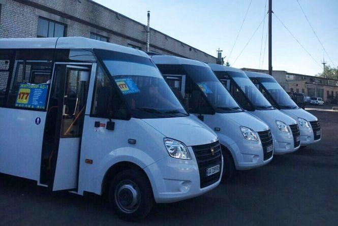 """Відсьогодні маршрут """"Житомир - Висока Піч"""" обслуговує новий перевізник"""