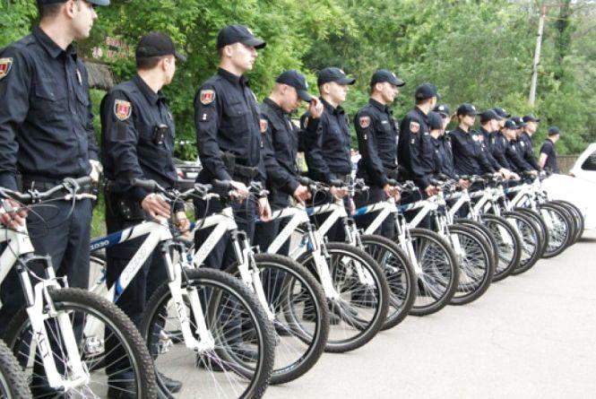 У Житомирі з`являться поліцейські велопатрулі