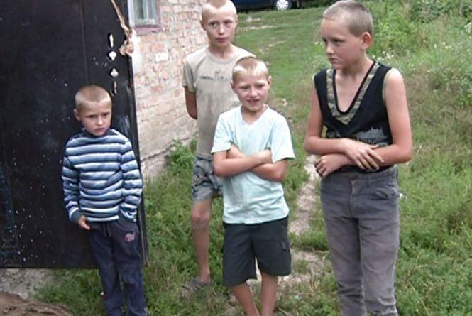 На Житомирщині розшукали чотирьох дітей, які заблукали в соняшниковому полі
