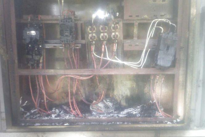 У Коростишівському районі горіла  трансформаторна підстанція