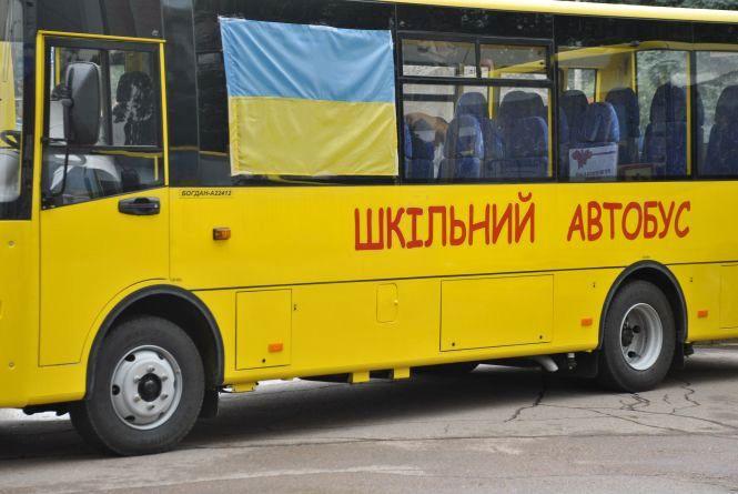 Автопарк шкільних автобусів Житомирщини поповнився на 12 одиниць
