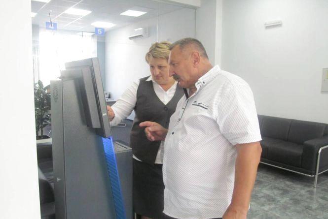 """Для користувачів """"Житомирводоканалу"""" встановили інформаційний термінал самообслуговування"""