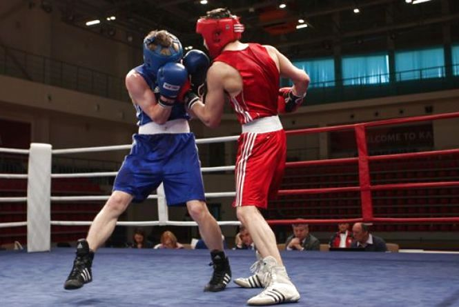 Житомирські боксери впевнено перемогли миколаївських спортсменів