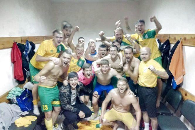 ФК «Полісся» отримав довгоочікувану перемогу