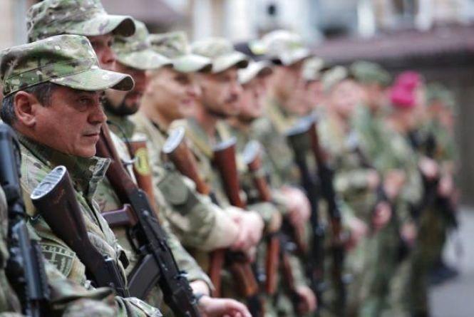 Загін житомирських поліцейських відбув у зону АТО