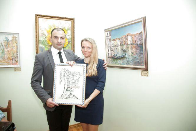 До Дня улюбленого міста: у Житомирі презентували персональну виставку Артура Хачатряна