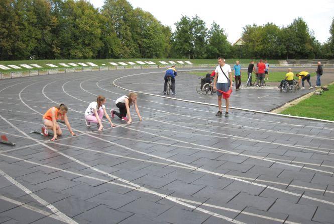 У Житомирі пройшов кубок області з легкої атлетики серед осіб з обмеженими фізичними можливостями