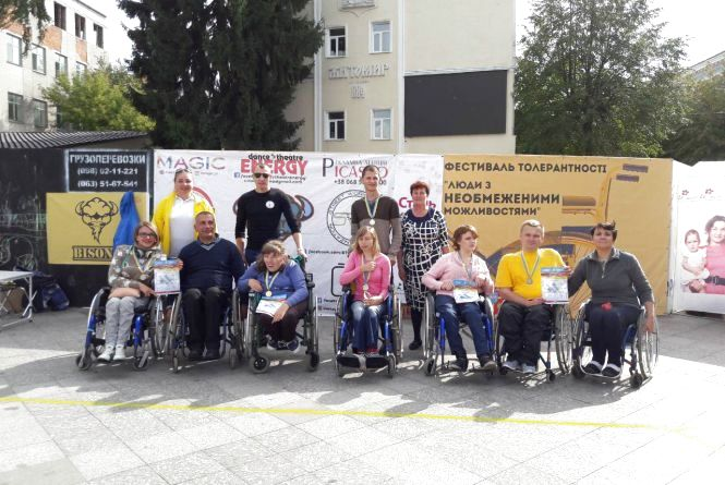 У Житомирі пройшов турнір з бочча