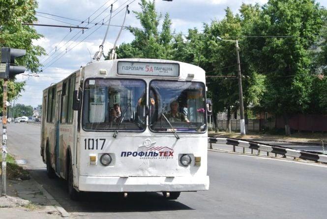 Вартість проїзду у електротранспорті Житомира зросла до трьох гривень