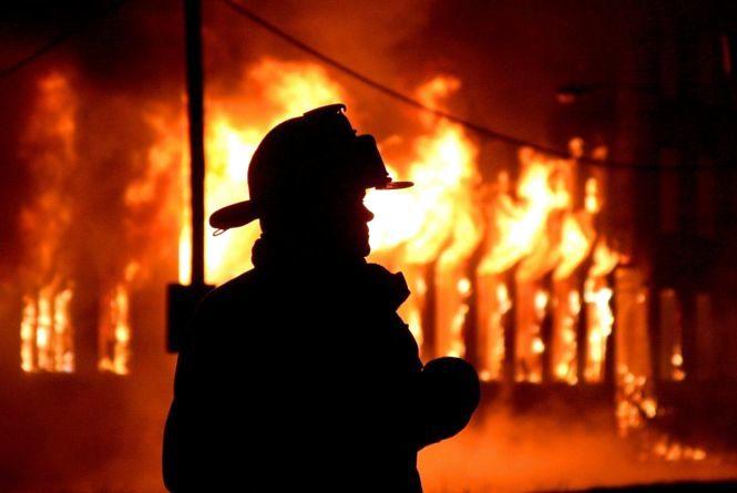У Житомирі під час ліквідації пожежі виявили рештки невідомої людини