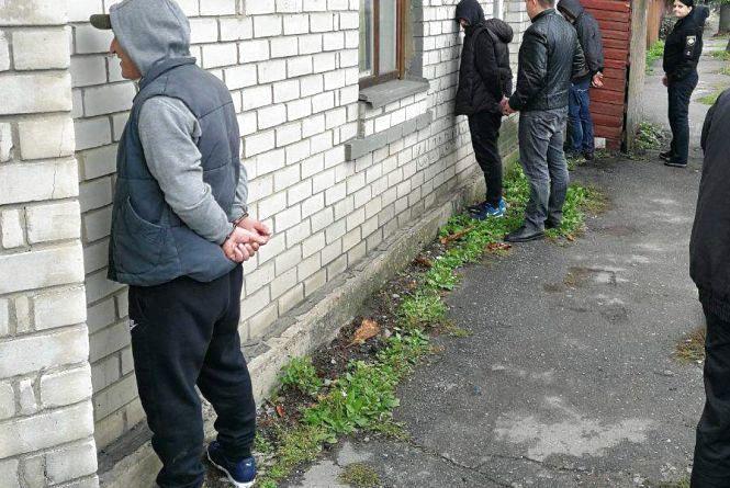 У Житомирі затримали групу домушників-кавказців