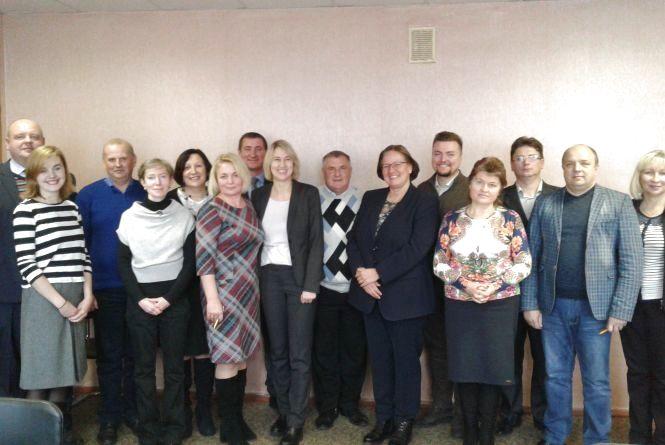 Німецький експерт  з державного управління та місцевого самоврядування відвідала житомирські громади