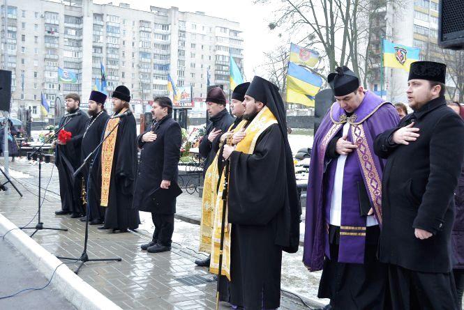 У Житомирі вшанували пам`ять загиблих учасників АТО