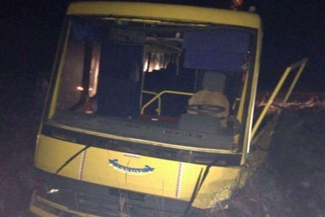 Діти, які потрапили в аварію на шкільному автобусі, сьогодні вийшли на навчання