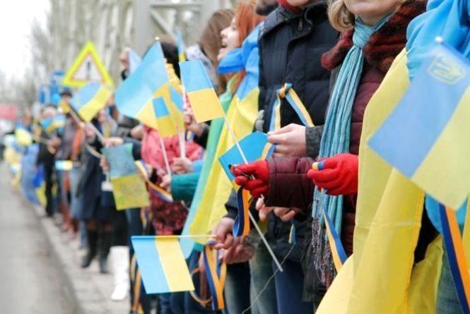 """Житомирян 22 січня запрошують долучитися до """"живого ланцюга єдності"""""""