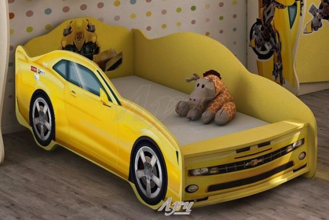 Ліжко машина для хлопчика «Трансформери» від меблевої фабрики «Луч» - оригінально і практично