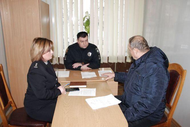 Очільник поліції області провів виїзний прийом у Бердичеві
