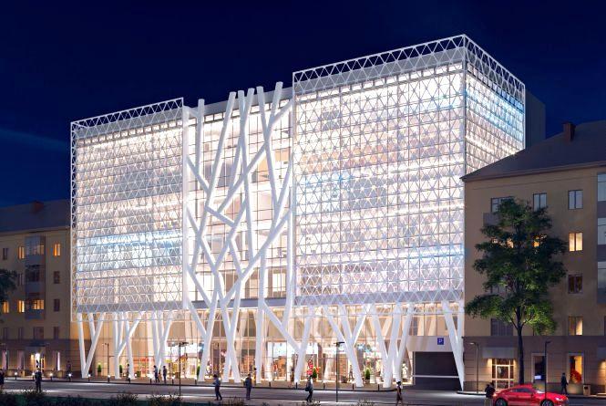 У Житомирі розпочали підготовку до будівництва 7-поверхового торговельно-офісного центру