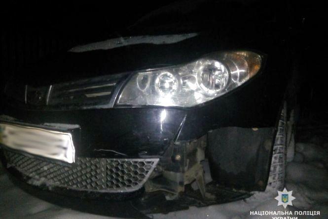 У Романові завдяки небайдужому свідку поліції вдалося розшукати  винуватця ДТП