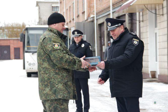 Із зони АТО в Житомир повернулися більше двадцяти поліцейських