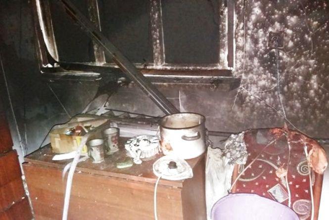 У Баранівському районі під час пожежі загинула жінка