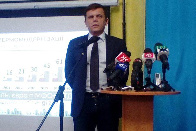 Сергій Сухомлин розпочав звіт перед житомирянами