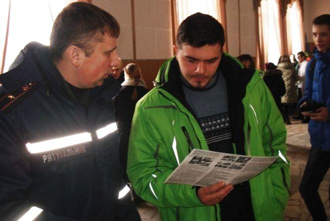 Житомирська область: рятувальники долучилися до «Ярмарки професій»