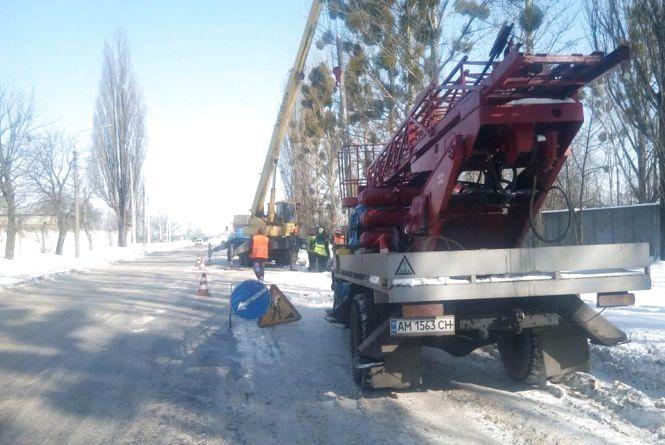 У Житомирі на Промисловій вулиці відновлено роботи по будівництву нової гілки тролейбусної лінії