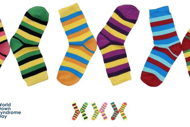 21 березня одягни яскраві шкарпетки і вислови підтримку людям із синдромом Дауна