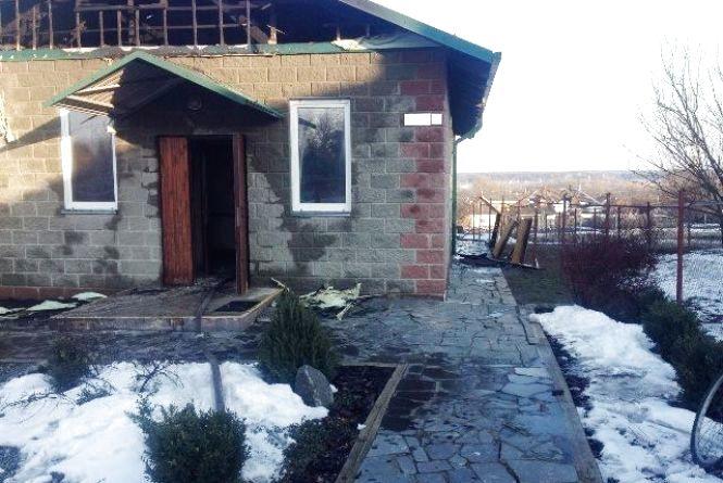 Рятувальники ліквідували пожежу у Радомишлі та Іванополі