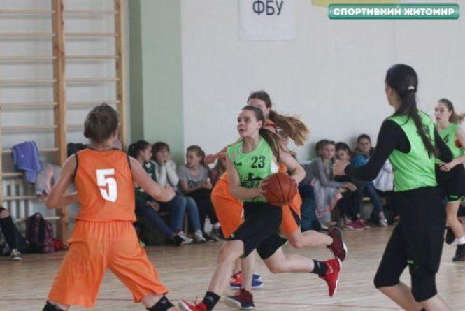 В Житомирі відбувся тур Всеукраїнської юнацької баскетбольної ліги среди дівчат