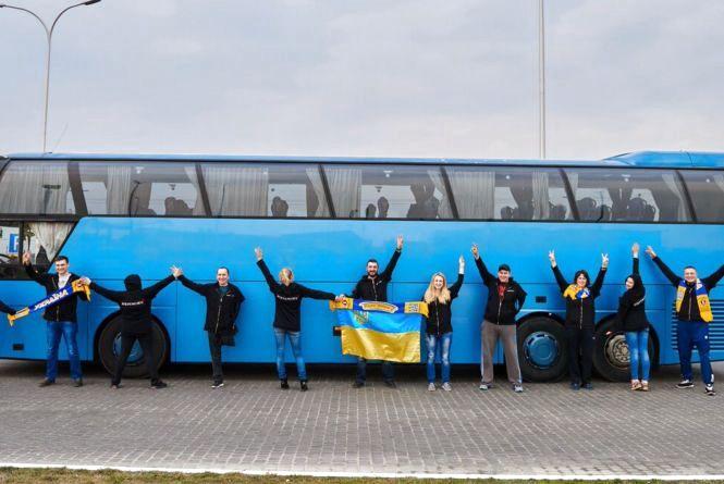 Автобус з українськими захисниками вирушить в Європу з Житомира