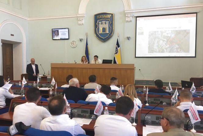 У Житомирі презентували ймовірні ділянки для будівництва сміттєпереробного заводу