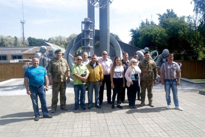 Прикордонники Житомирського загону ділились досвідомз литовськими колегами