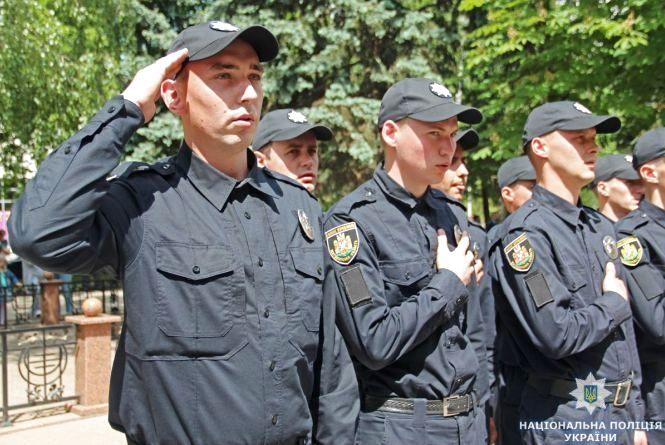 У Житомирі на вірність українському народові присягнули поліцейські конвойної служби