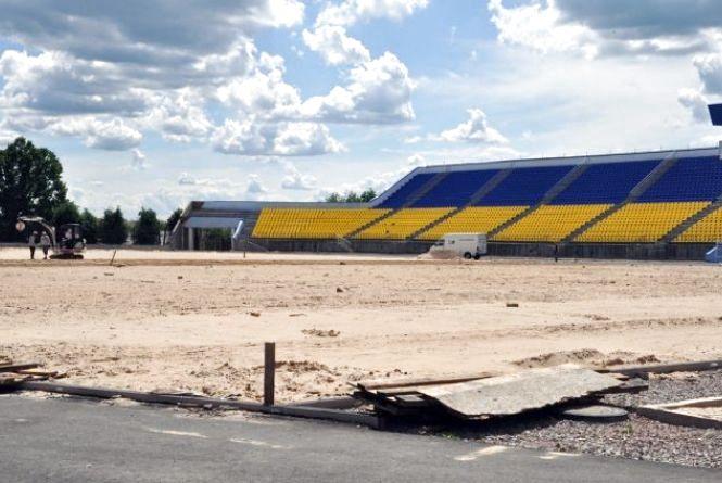 Реконструкцію стадіону «Полісся» планують закінчити до кінця року