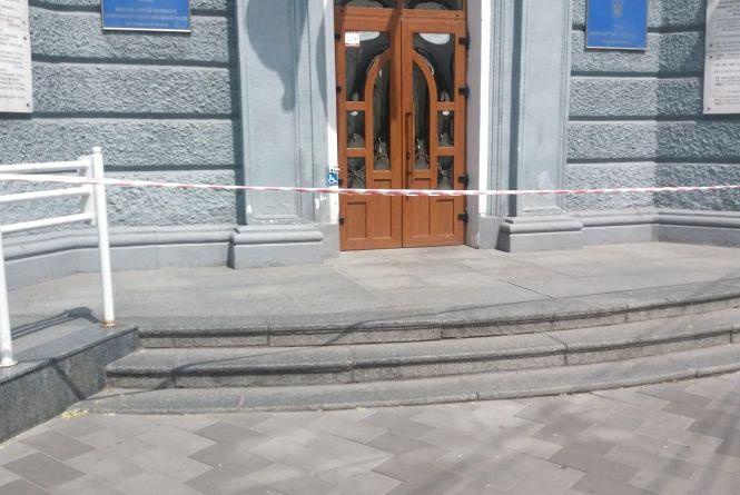 З Житомирської міськради евакуювали працівників та відвідувачів