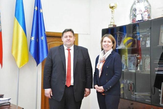 Голова ОДА Ігор Гундич зустрівся із Послом Великої Британії Джудіт Гоф