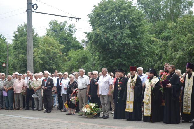 Житомиряни вшанували пам'ять жертв загиблих в роки війни