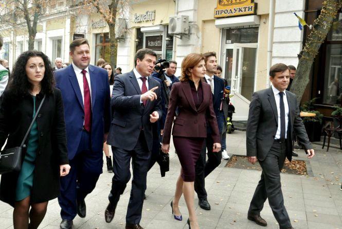 Перша леді України Марина Порошенко на Житомирщині презентувала проект «Дитяча Демократія»