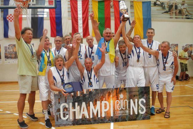 Житомиряни у складі збірних команд України перемогли у Чемпіонаті Європи з баскетболу